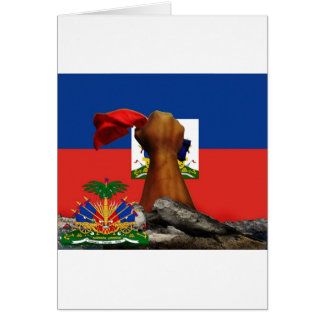 haiti rise copy 2.jpg greeting card