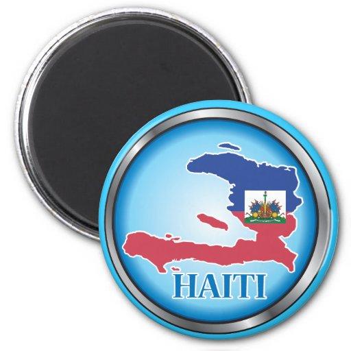 Haiti Round Button.ai Magnet