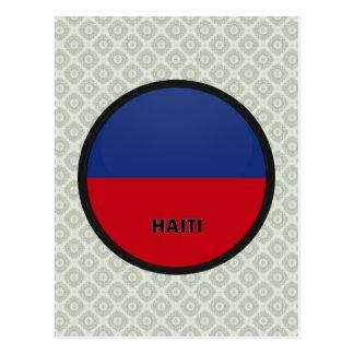 Haiti Roundel quality Flag Postcard