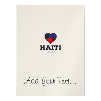 Haiti Soccer Shirt 2016 17 Cm X 22 Cm Invitation Card