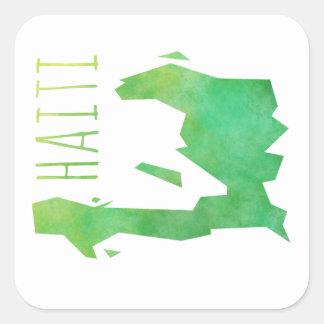 Haiti Square Sticker