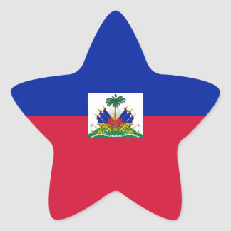 HAITI STAR STICKER
