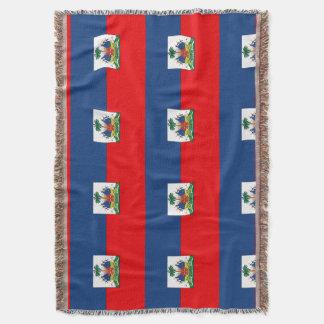 Haiti Throw Blanket