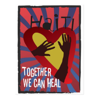HAITI - Together We Can Heal Postcard