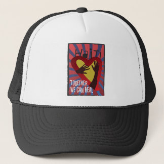 HAITI - Together We Can Heal Trucker Hat