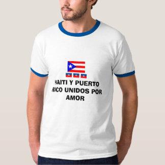 Haiti y Puerto Rico Tshirts