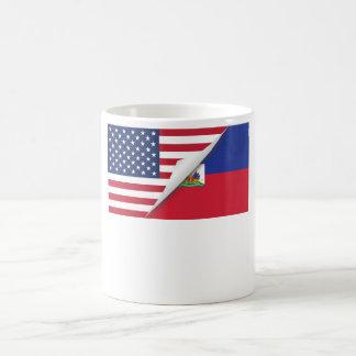 Haitian American Flag Coffee Mug