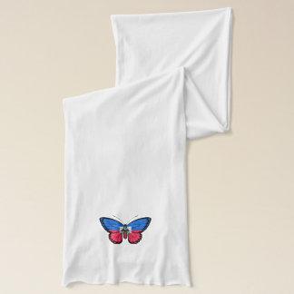 Haitian Butterfly Flag Scarf