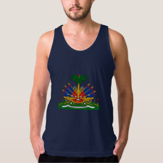 Haitian  coat of arms tank top