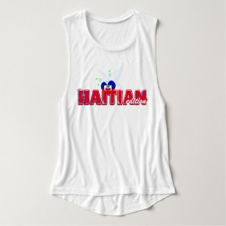 Haitian Edition Activewear Flowy Muscle Tank Top