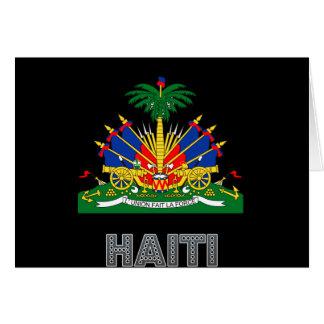 Haitian Emblem Card