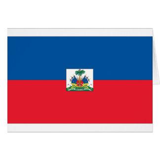 Haitian Flag Greeting Card