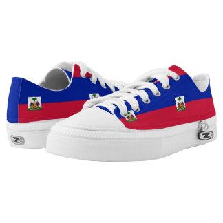 Haitian flag low tops