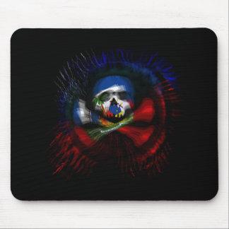 Haitian Pirate Flag Mouse Mat
