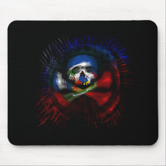 Haitian Pirate Flag Mouse Pad