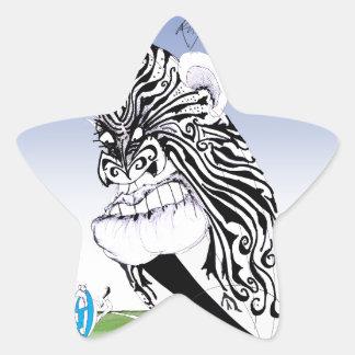 hakka rugby ball, tony fernandes star sticker