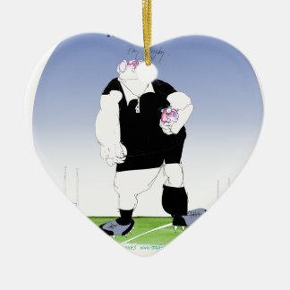 hakka rugby rules!, tonyu fernandes christmas ornament