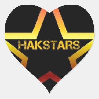 HAKSTARS MEGA STORE HEART STICKER