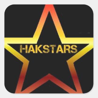 HAKSTARS MEGA STORE SQUARE STICKER