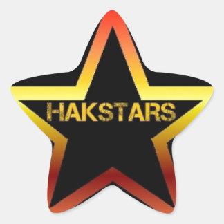 HAKSTARS MEGA STORE STAR STICKER