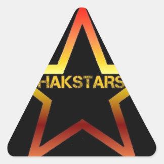 HAKSTARS MEGA STORE TRIANGLE STICKER