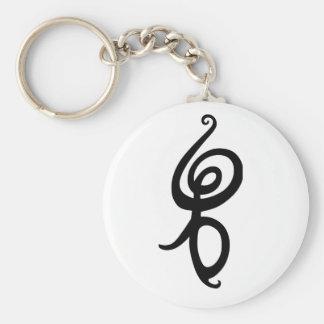 Hakuna Matata Basic Round Button Key Ring