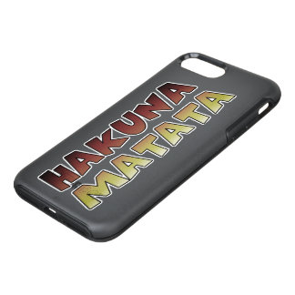 Hakuna Matata beautiful amazing text colors design OtterBox Symmetry iPhone 8 Plus/7 Plus Case