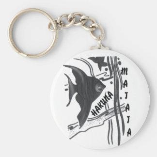 Hakuna Matata Big Little Fish.png Keychain