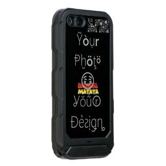 Hakuna Matata Create Your Own No Worries design Incipio ATLAS ID™ iPhone 5 Case