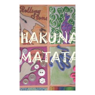 Hakuna Matata cute amazing work of art.png Customised Stationery