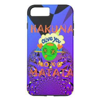 Hakuna Matata cute nice and lovely funny love iPhone 7 Plus Case