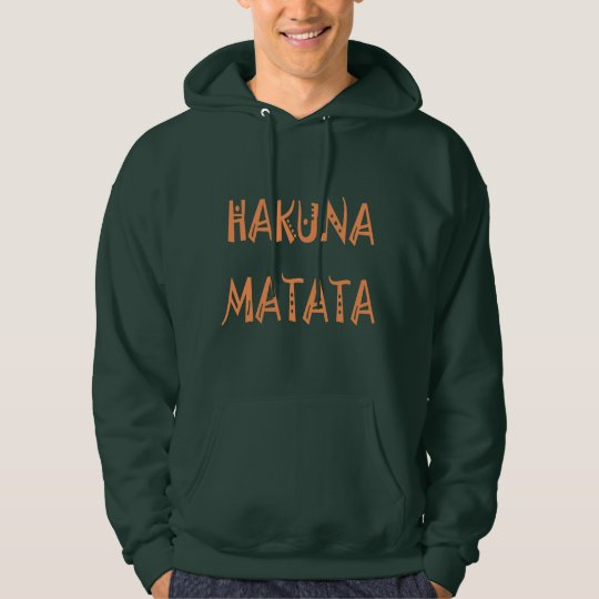 Hakuna Matata Gifts Apparel Men's Basic Hoodie