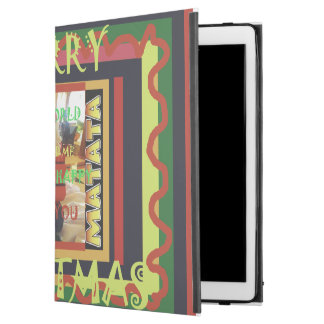 "Hakuna Matata Happy Holidays amazing Christmas iPad Pro 12.9"" Case"