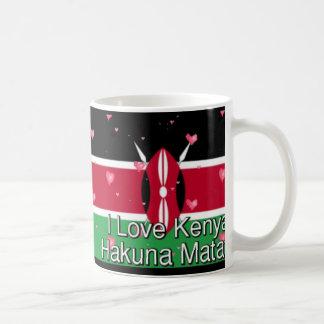 Hakuna Matata I love Kenya Gift Mugs