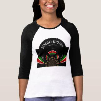 Hakuna Matata Jambo Kenya Sleeve Raglan T-Shirt