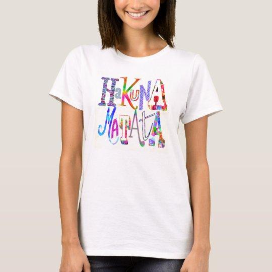 "Hakuna Matata - ""no worries"" tee shirt"