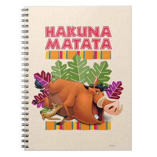 Hakuna Matata Notebooks