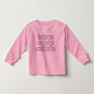 Hakuna Matata Pink Toddler Long Sleeve Vintage Tee