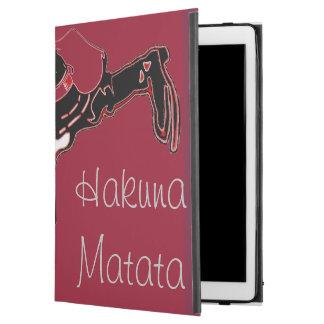 "Hakuna Matata Urban fantastic masculine  HoHoHo! iPad Pro 12.9"" Case"