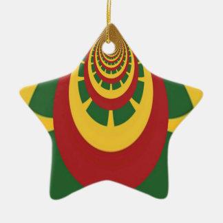Hakuna Matata Vintage COOL RETRO jamaicas Rastas Christmas Ornament