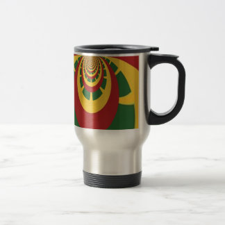 Hakuna Matata Vintage COOL RETRO jamaicas Rastas 15 Oz Stainless Steel Travel Mug