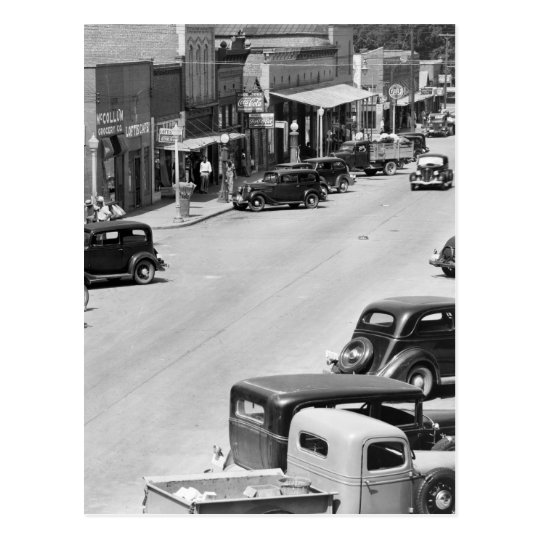 Hale County, Alabama, 1930s Postcard