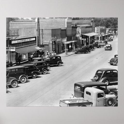 Hale County, Alabama: 1935 Poster