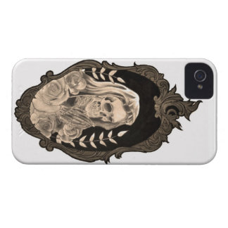 Hale Mary Conscious Canvas Tattoo iPhone 4 Case-Mate Case