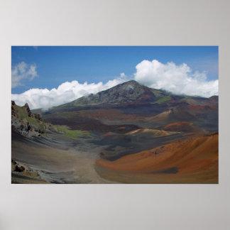 Haleakala Crater, Maui, Hawaii Poster