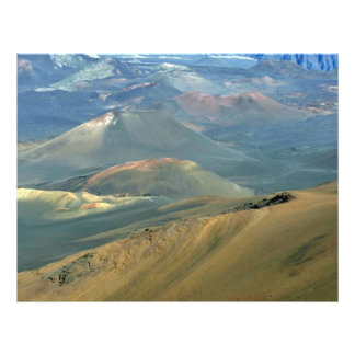 Haleakala Crater, Maui, Hawaii, U.S.A. 21.5 Cm X 28 Cm Flyer