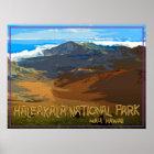 Haleakala National Park, Maui Hawaii Poster