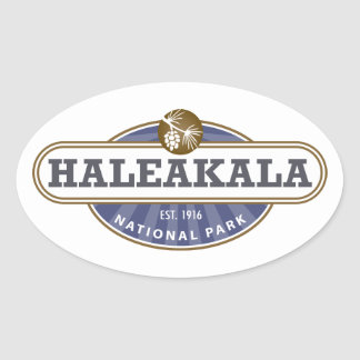Haleakala National Park Oval Sticker