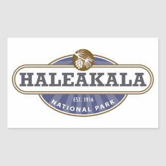 Haleakala National Park Rectangular Sticker