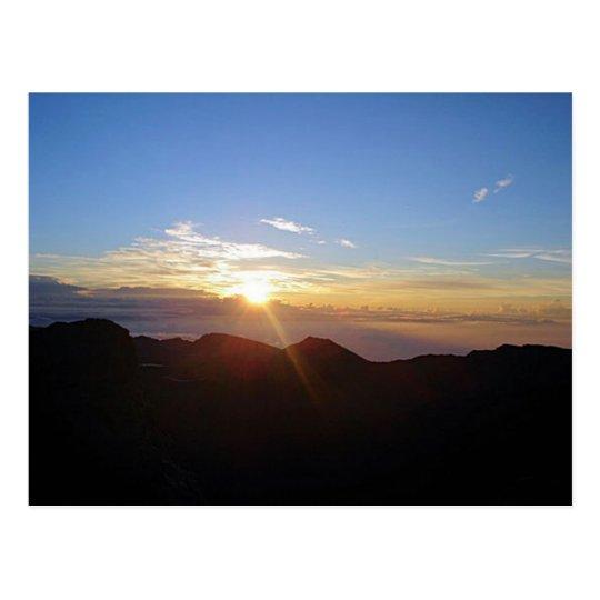 Haleakala Sunrise Postcard